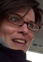 Cindy on Bus