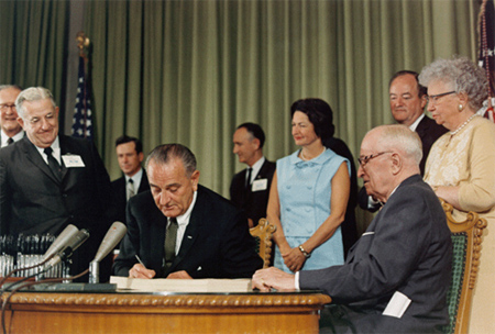Johnson Signing Medicare