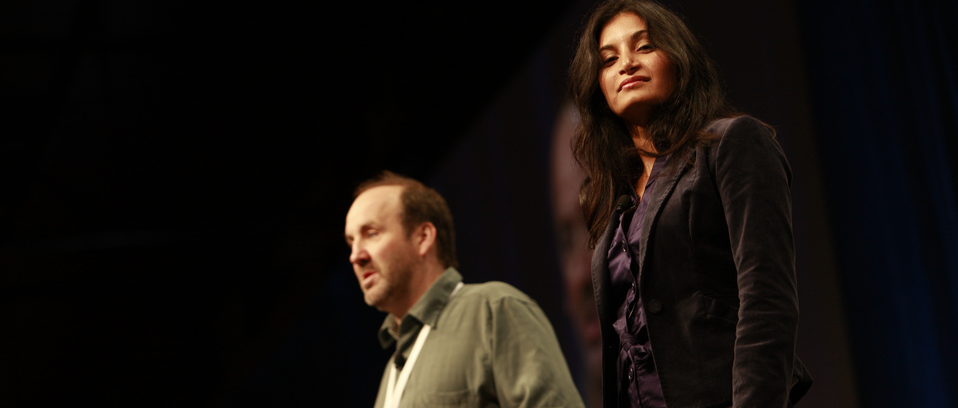 Health 2.0 Cofounders Matthew Holt and Indu Subaiya